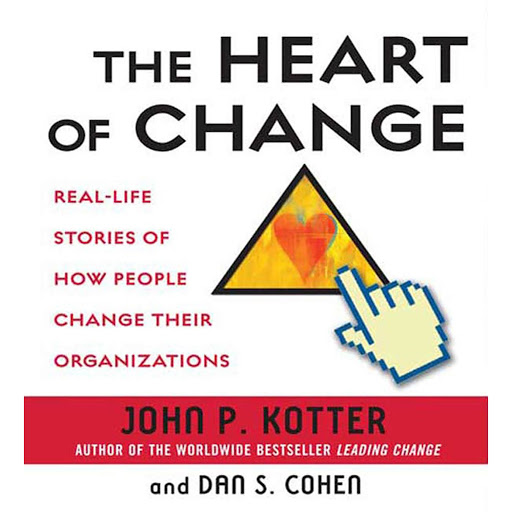 The Heart of Change: Real-Life Stories of How People Change Their  Organizations by John Kotter, Dan Cohen - Audiobooks on Google Play