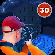 Jail Break Prisoner Sniper Hero FPS Shooter