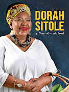 Dorah Sitole's new cookbook, '40 Years of Iconic Food' (NB Publishers), R380.