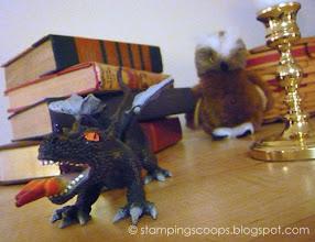Photo: Dragon and Owl Decor