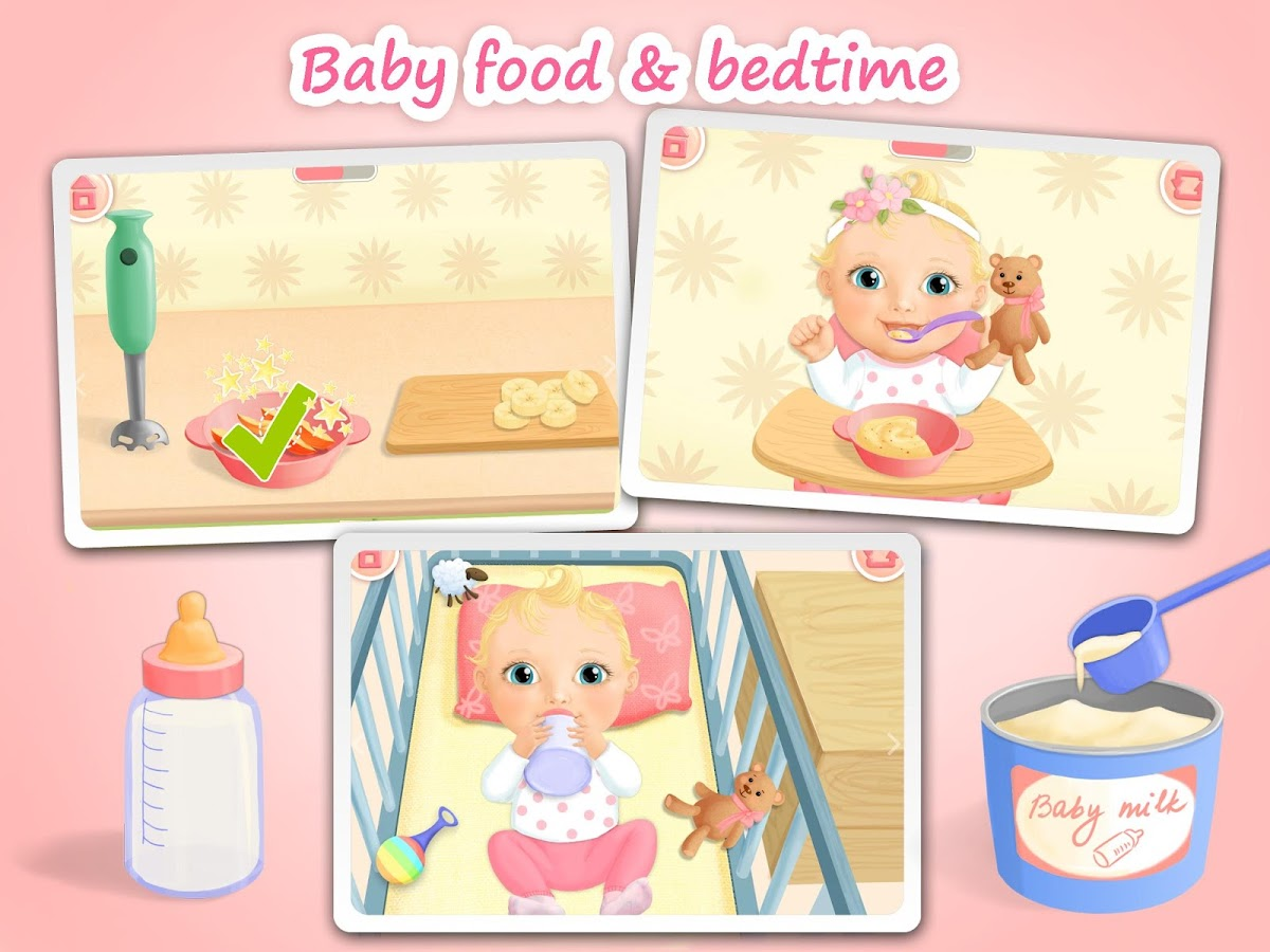 Sweet Baby Girl Dream House Apl Android Di Google Play
