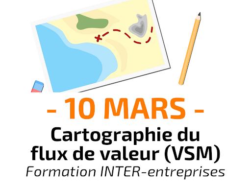 Cartographie du flux de valeur (Value Stream Mapping) - Formation inter-entreprises