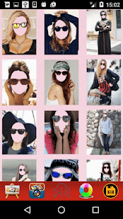 Women Selfie - Sunglass Montage - náhled