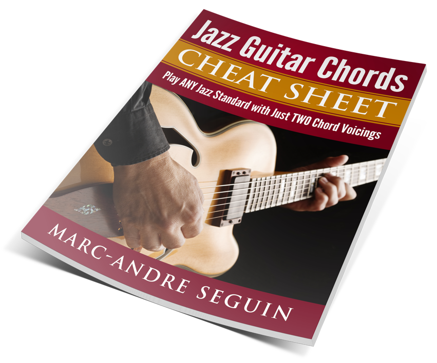 Jazz Guitar Chords Cheat Sheet