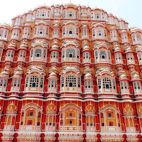 HAWA MAHAL by Ajit Kumar Majhi - Buildings & Architecture Public & Historical (  )