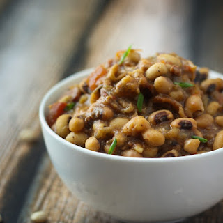 Slow Cooked Black Eyed Peas.