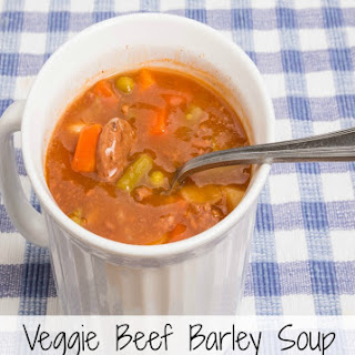 Vegetable Beef 'N' Barley Soup
