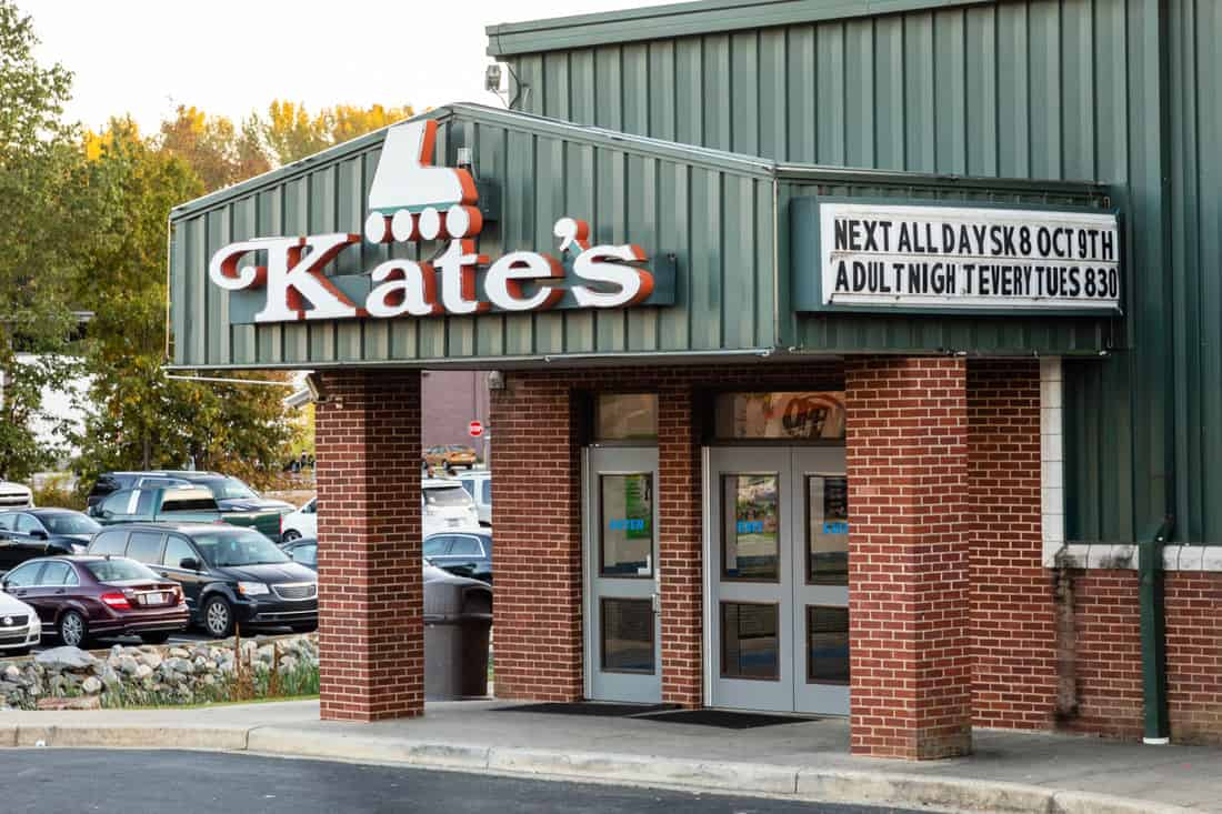 Exterior of Kate's Skating Rink Indian Trail.