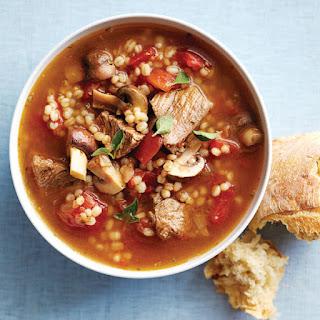 Beefy Barley Soup