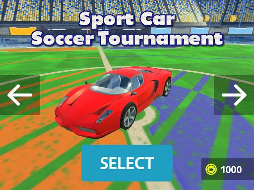 Sport Car Soccer Tournament 3D  screenshots 6