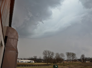 Photo: Storm cell that spawned the 2012 tornado in Dexter, MI