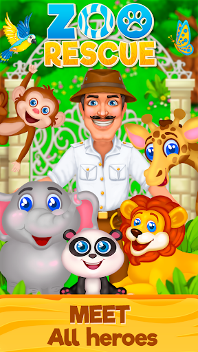 Zoo Rescue: Match 3 & Animals  screenshots EasyGameCheats.pro 5