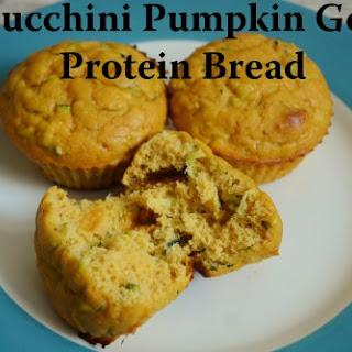 Pumpkin Zucchini Goji Berry Protein Muffins.