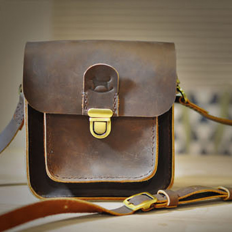 Be Qute Bag - Chocolate by Rocking Dog by Pipit Zakka Store