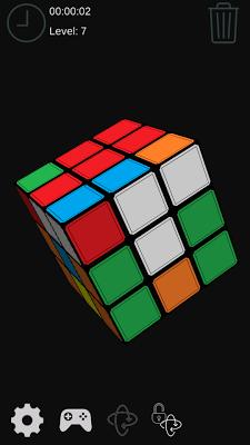 Cube Puzzle 3x3 - screenshot