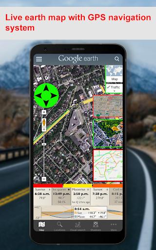 GPS Navigation Earth Map & GPS Direction Tracking Apk 2