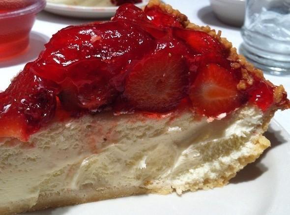 Strawberry Cheese Pie Recipe