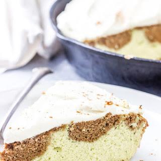 Keto Cinnamon Roll Cake.