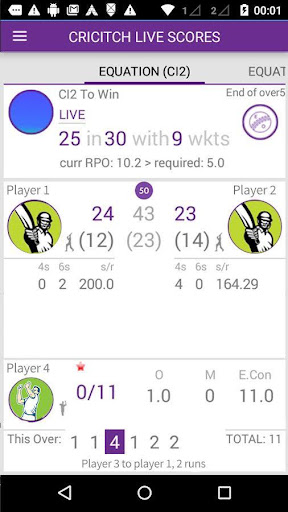 Live cricket scores cricitch  screenshots 1