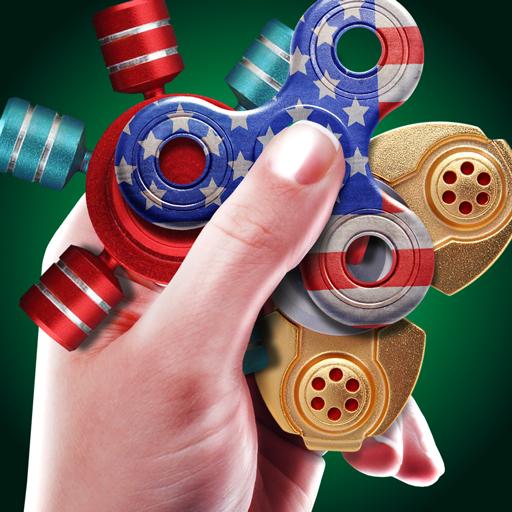 Pro hand fidget spinner