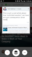 Screenshot of Buffer: Social Media, Twitter