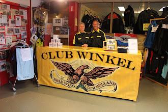 Photo: Ook de clubwinkel van de GWCH was van de partij.