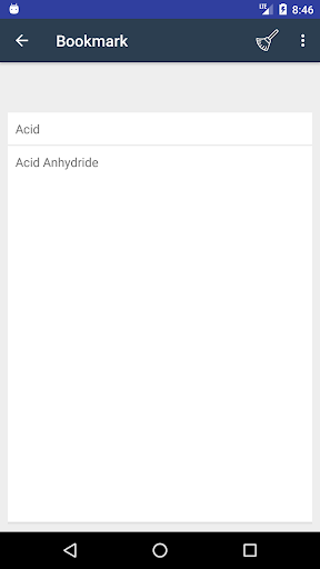 Screenshot 4 Chemistry Dictionary