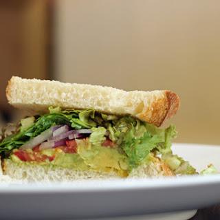 Avocado Salsa Sandwich