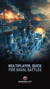 World of Warships Blitz 0.7.3 Apk (Unlimited Money) MOD 1