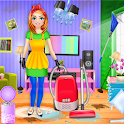 My Family Mansion Cleaning: Messy House Cleanup icon