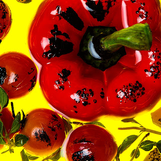 Charred Tomato Oil