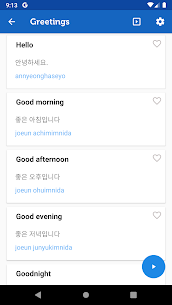 Learn Korean Pro – Phrasebook 3.3.0 MOD for Android 2