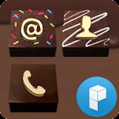 Dark Chocolate Launcher Theme