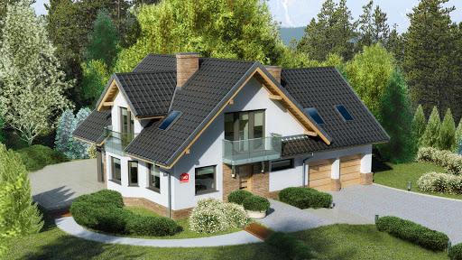 projekt Dom przy Cyprysowej 15 K2