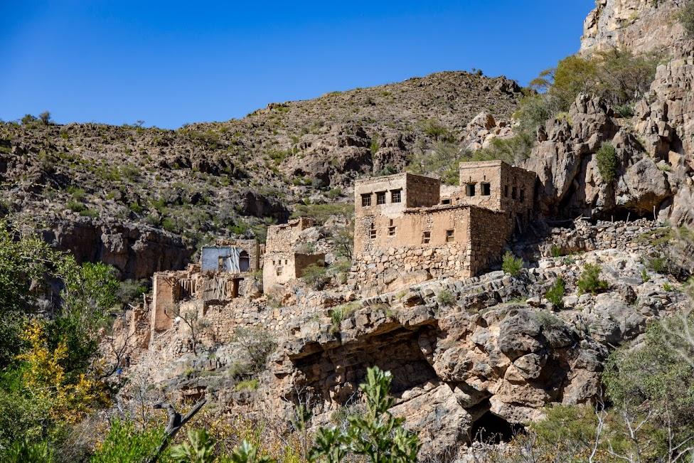 ruiny, Wadi Bani Habib