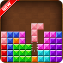 New wood color block icon