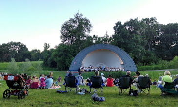 Photo: Ann Arbor Civic Band performs in West Park