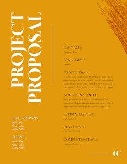CC Proposal - Project Proposal item