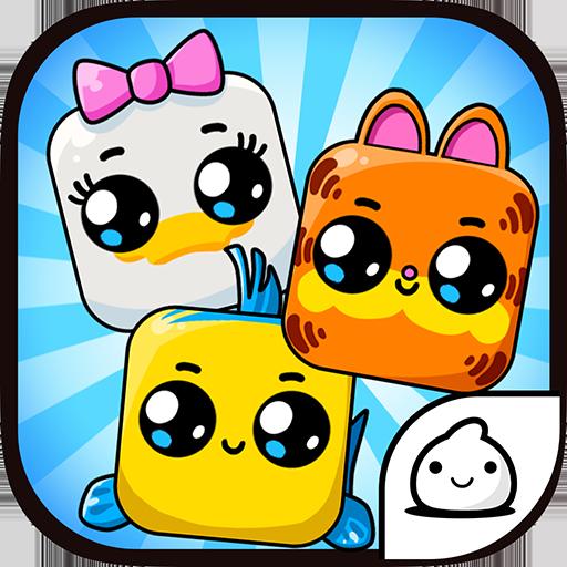 Cartoon Cubes Evolution - Idle Clicker Game Kawaii