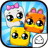 Cartoon Cubes Evolution - Idle Clicker Game Kawaii