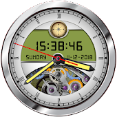 Analog Clock Live Wallpaper 2018: 3D Clock Widget
