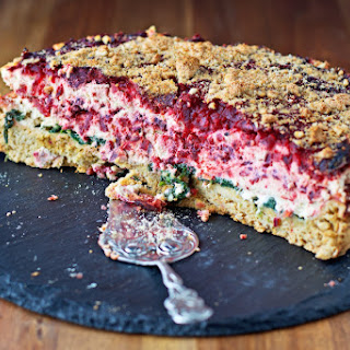Beet and Spinach Tart Recipe