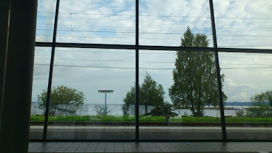 Photo: Travel centre - nice view!
