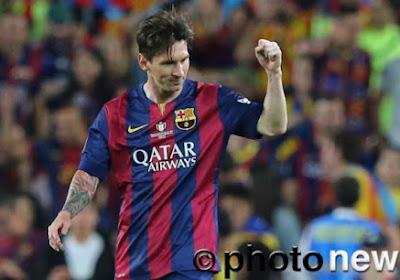 Un doublé de Messi offre le doublé au Barça