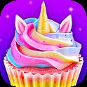 Unicorn Food - Sweet Rainbow Cupcake Desserts icon