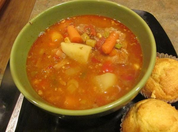 Poor Man's Vegetable Neckbone Soup 4 A Crowd Recipe