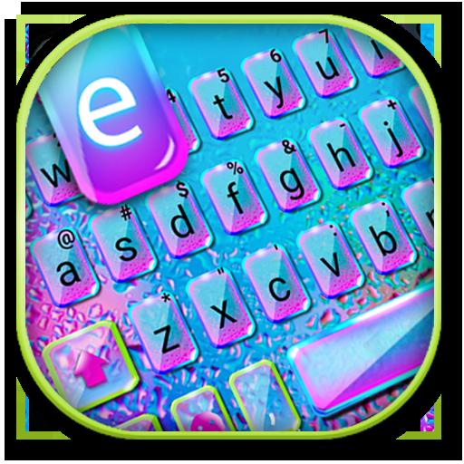 Classic Rainy Glasswater Keyboard Theme Icon