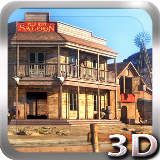Wild West 3D Live Wallpaper app for Android