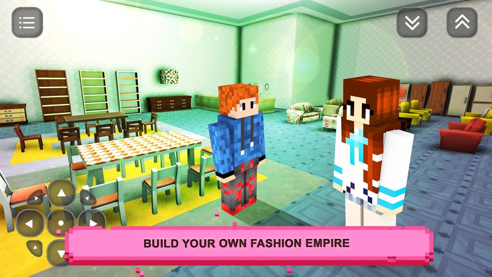 Girls craft story fashion design building games for Crafting and building 2