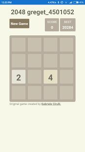 2048 Greget - náhled